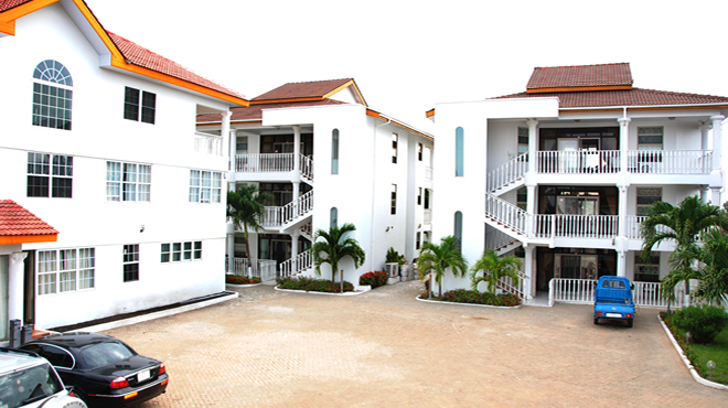 Front View of Peace Holiday Resort